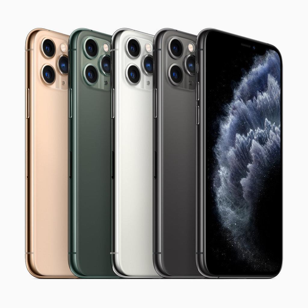 iPhone 11 Pro/Pro Maxはトリプルカメラで4色展開