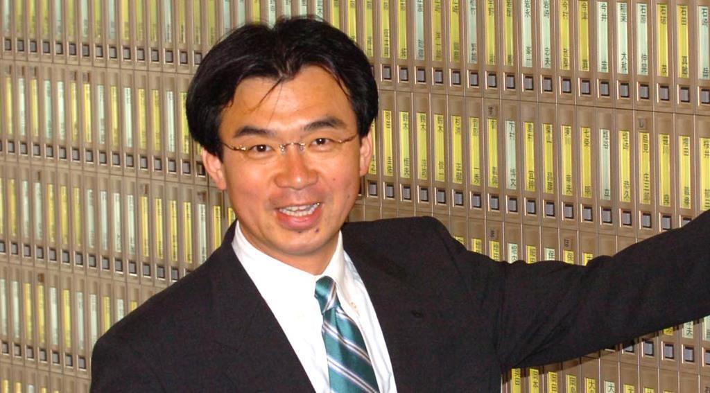 秋葉賢也氏