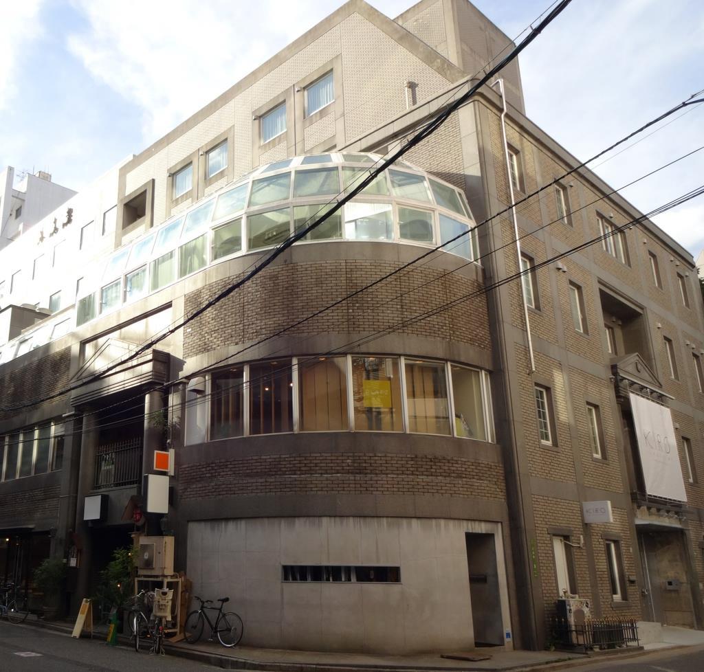 商業ビルを改装した「KIRO広島」=広島市中区
