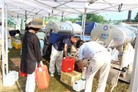 静岡・伊東市の断水はすべて解消 給水車活動も終了