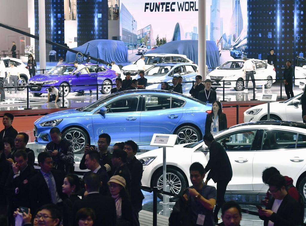今年4月の上海国際モーターショー(共同)