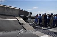 台風15号 物流網寸断で日本経済に影響 現地視察の新国交相「復旧急ぐ」