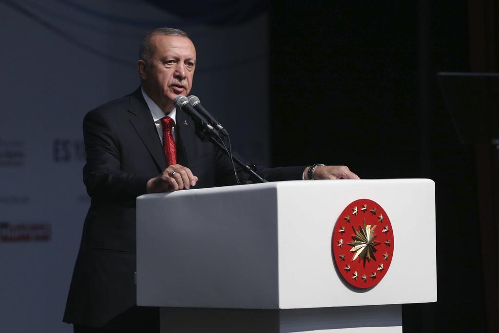 トルコのエルドアン大統領(ゲッティ=共同)