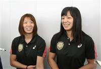 川井姉妹「2人で金を」 レスリング世界選手権へ出発