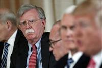 トランプ氏、ボルトン氏は「重大なミスしでかした」 北朝鮮核問題での「リビア方式」発言な…