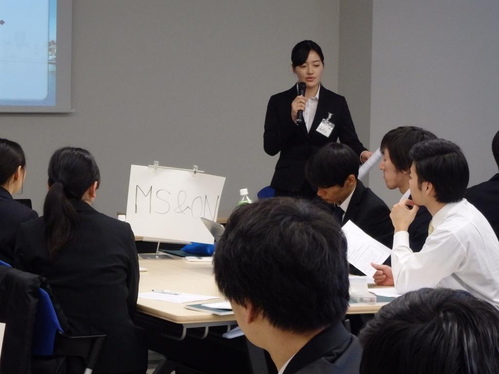 三井住友海上が初めて実施したデジタル戦略コースの1日型インターンシップ