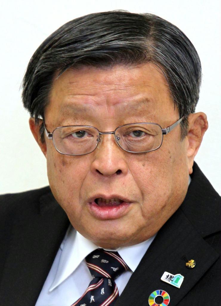 竹山修身前堺市長