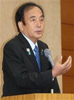 上田前埼玉知事、10月の参院補選に出馬へ 後援会会合で意向
