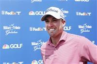シェルトンが首位 米男子ゴルフの今季開幕戦