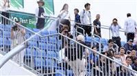 東京五輪の暑さ対策で降雪実験 カヌー・テスト大会で