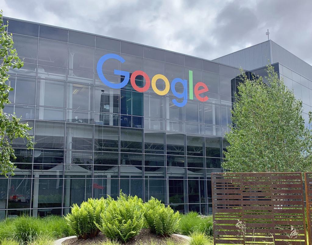 米グーグルの本社=5月、カリフォルニア州マウンテンビュー(共同)