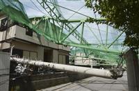 千葉の電柱倒壊・損傷2000本 台風15号被害、経産省試算