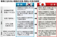 日本、冷静な対韓「世論戦」 虚偽・曲解の対日批判に事実発信強化