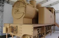 リアルな段ボールSLが評判 知られざる出石鉄道の歴史