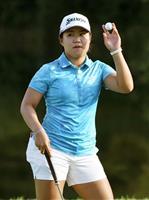 畑岡が単独首位を堅持 日本女子プロゴルフ第3日