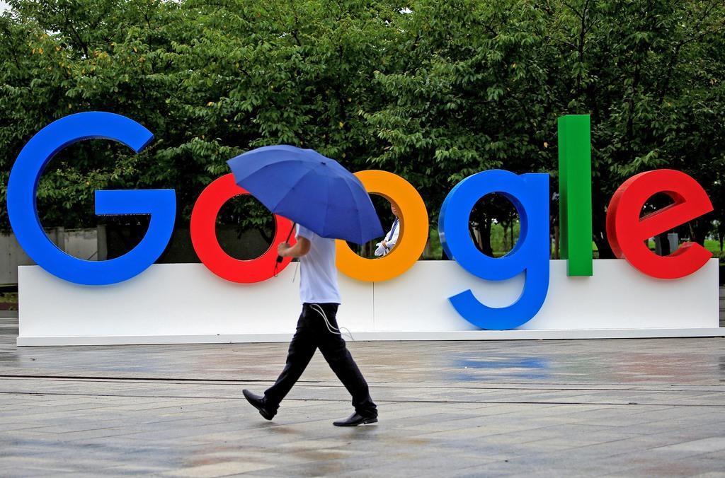米IT大手グーグルは、独占的な立場で市場をゆがめているとの批判に強く抵抗している=上海(ロイター)