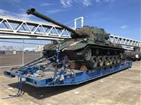 陸自の退役戦車、ヨルダン博物館で展示 国王から要請