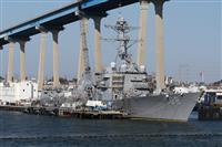 米海軍の駆逐艦が南シナ海のパラセル諸島で航行の自由作戦