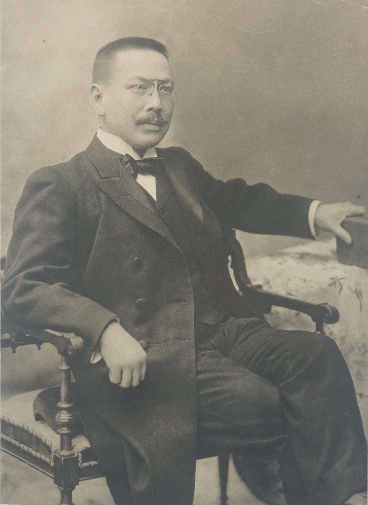 加藤拓川(正岡明さん所蔵)