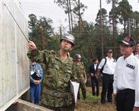 河野防衛相、台風被災地の千葉視察 自衛隊支援拡大へ