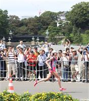 MGC女子 40キロも前田が懸命の走り、2位鈴木とは2分近い差