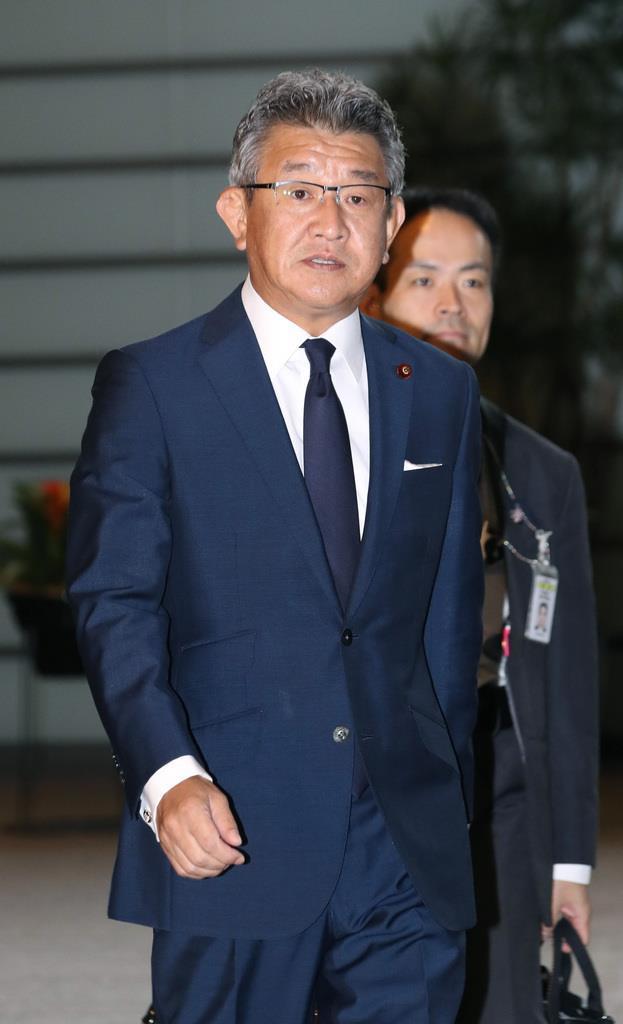 「激甚災害」指定に向けた調査を急ぐ武田良太防災担当相