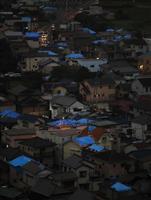 千葉停電 強い雨で避難勧告も 7万戸いまだ復旧せず