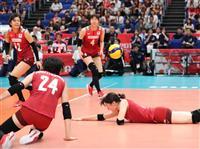日本、韓国に屈し連敗 バレー女子W杯