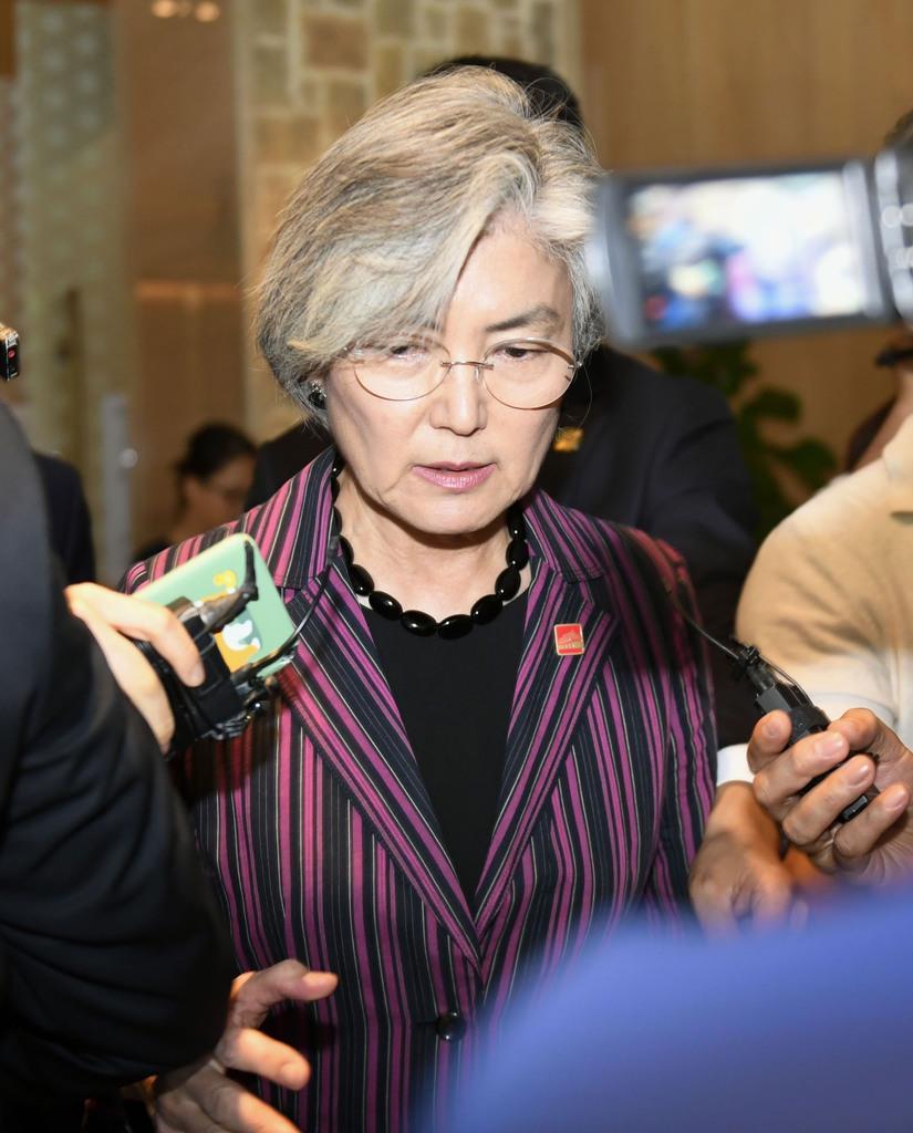 韓国の康京和外相(共同)