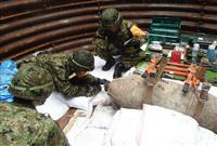 【国民の自衛官~横顔】(5)命がけで爆弾498トン安全化 陸自東部方面後方支援隊第10…
