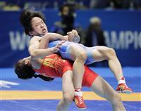 女子50キロ級の入江ゆきが中国選手にまさかの黒星 レスリング世界選手権