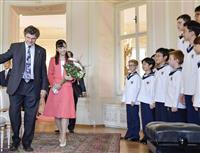 佳子さま、初海外訪問開始 オーストリア大統領表敬