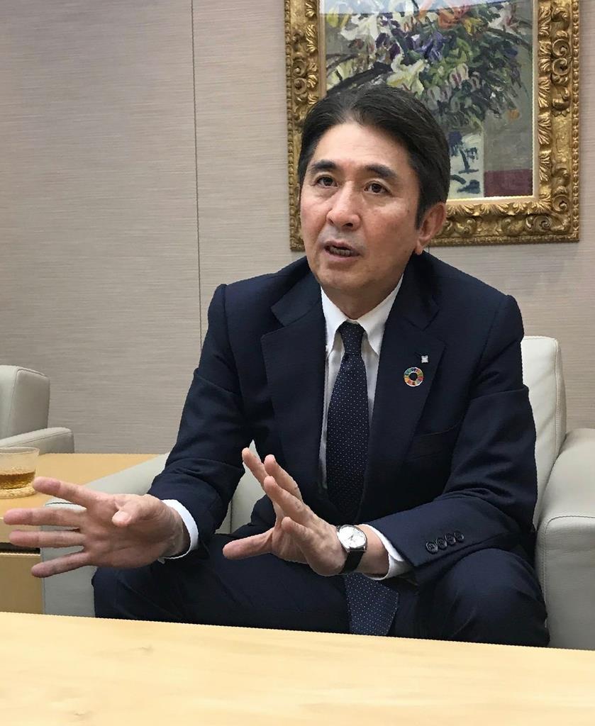 三井住友信託銀行の橋本勝社長