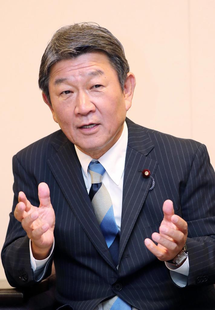 【新閣僚に聞く】茂木敏充外相「まずは韓国が国際法違反状態の是正を」 - 産経ニュース