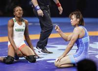女子57キロ級の川井梨が五輪代表に決定 伊調のこの階級での出場は断たれる 世界レスリン…