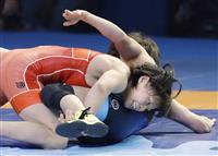 女子53キロ級の向田真優は銀 世界レスリング
