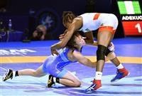 伊調との代表争いに終止符、安堵の川井梨 次の目標は姉妹で五輪