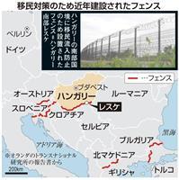 【ベルリンの壁崩壊30年】(5)欧州に新たな「壁」