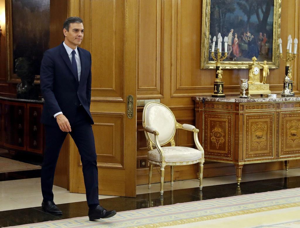 スペインのサンチェス首相=17日(ロイター)