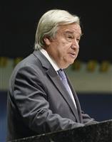 国連総会で事務総長「多国間主義が課題を打開」