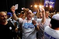 左右拮抗の接戦 イスラエル再選挙開票開始