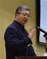 「歴史とは何か考えよう」大阪・清風高校で講演会