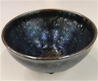神秘の茶碗「曜変天目」 岡山の陶芸家が再現に挑戦