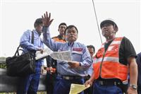 赤羽国交相、一部損壊の被災家屋にも「何らかの手を打つ」 台風15号被害