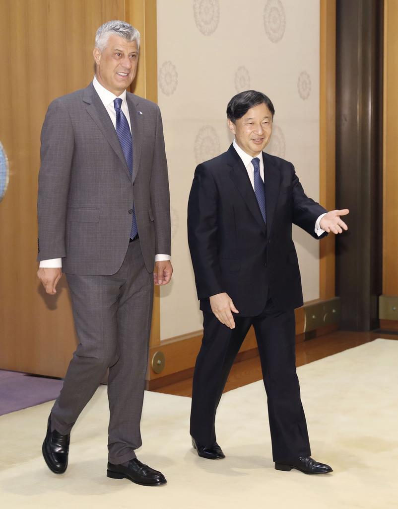 皇室ウイークリー コソボ大統領とご会見