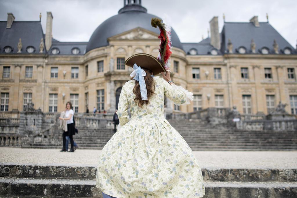 パリ近郊のボールビコント城=2015年7月(AP=共同)