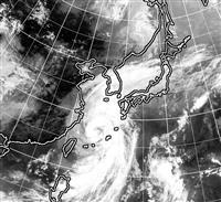 西日本中心に暴風雨警戒 台風17号、東シナ海へ北上