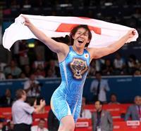吉田さんが東京五輪へ警鐘 世界レスリング女子金1に