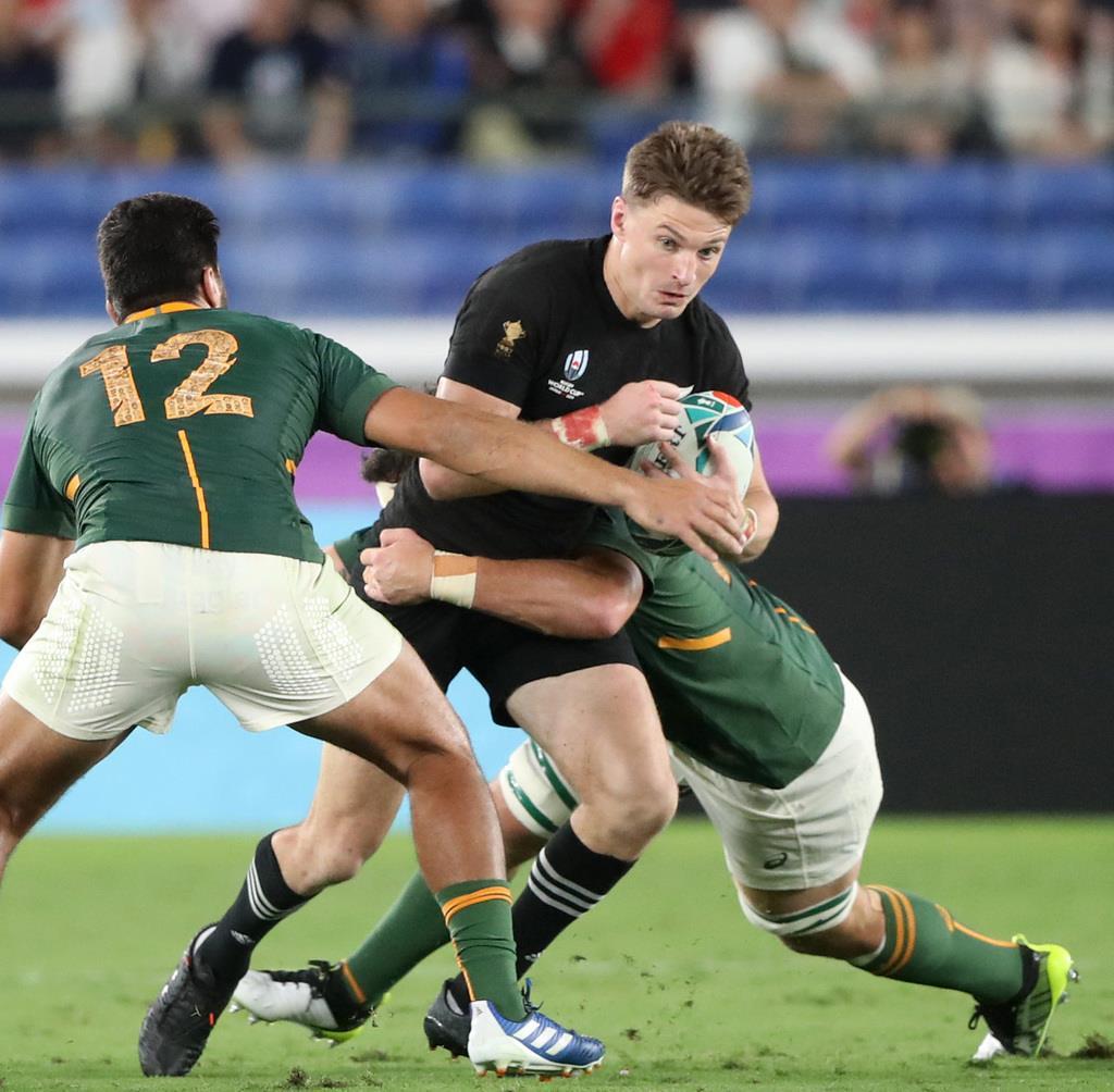 ラグビー 南アフリカ 対 ニュージーランド