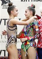 「東京楽しみ」 ワンツーのアベリナ姉妹 世界新体操